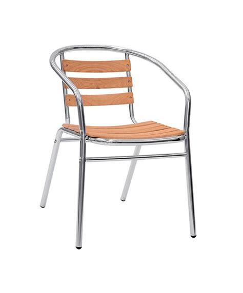 chaise aluminium exterieur m0013 fauteuil le mobilier du pro