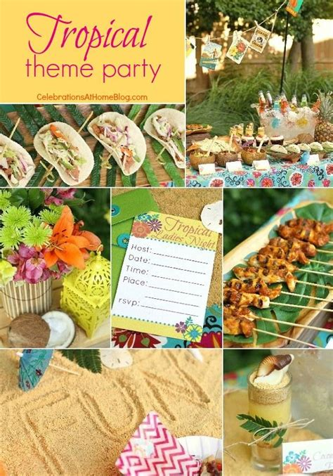 tropical themed events entertaining tropical themed party ideas free