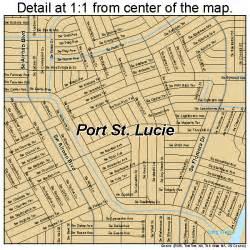 maps port st florida port st florida map 1258715