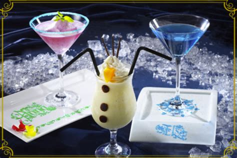 themed cocktail do you wanna drink this frozen snowman cocktail from