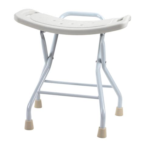 Small Folding Stool by Seamount Portable Fashion Wood Bath Shower Room Changing