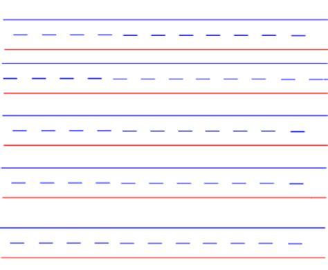 handwriting lines template smart exchange usa handwriting template