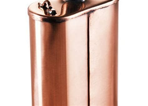 Handmade Copper Flask - your stuff the 110 best diy tips popular
