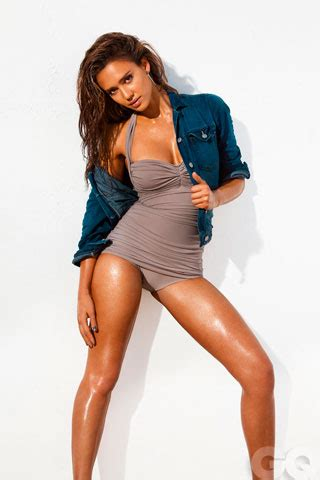Alba Poses In Gq by Alba Swimsuit And Blue Jean Top Bapwatch