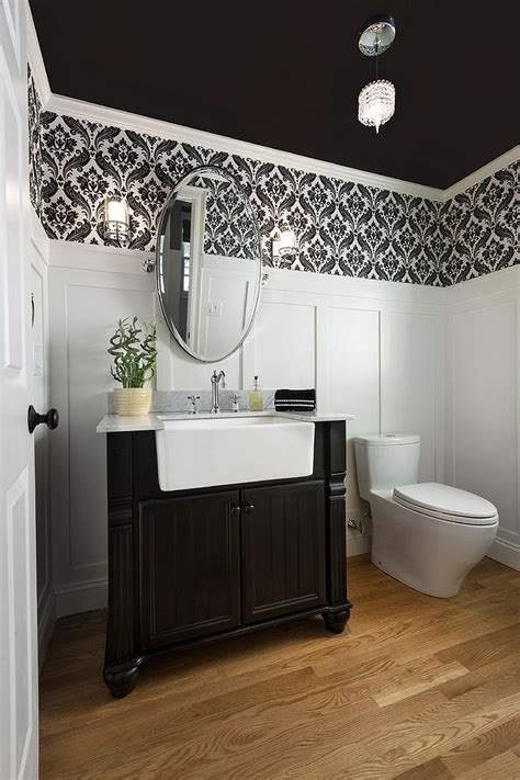 Decorating Small Room Ideas | 20 black and white powder room design ideas eva furniture