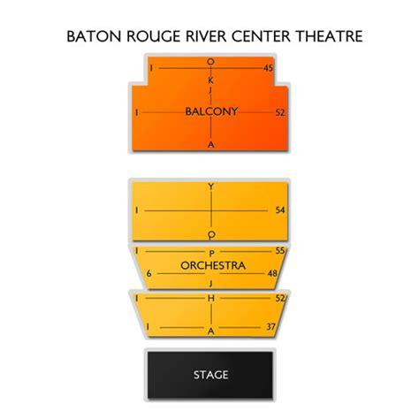 baton rouge river center theatre seating chart vivid seats