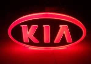 Kia New Emblem Free Shipping 2013 New Design 4d Led Auto Emblem Kia Led