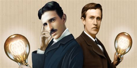 Tesla Vs Eddison Tesla And Edison The War Of The Currents Continues