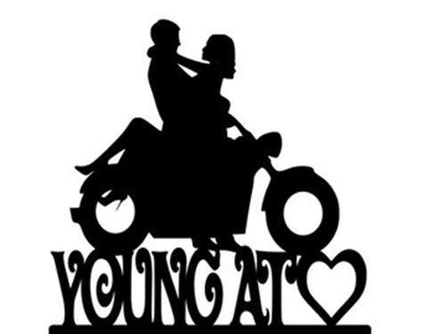 Wedding On Motorcycle Clipart by And Groom On Motorcycle Clipart 18