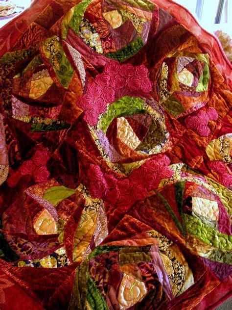 Velvet Patchwork Quilt - patchwork velvet and quilt on