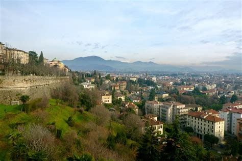 Bergamo I Stayed In An Painting by Bergamo From Citta Bassa To Citta Alta And The Venetian Walls