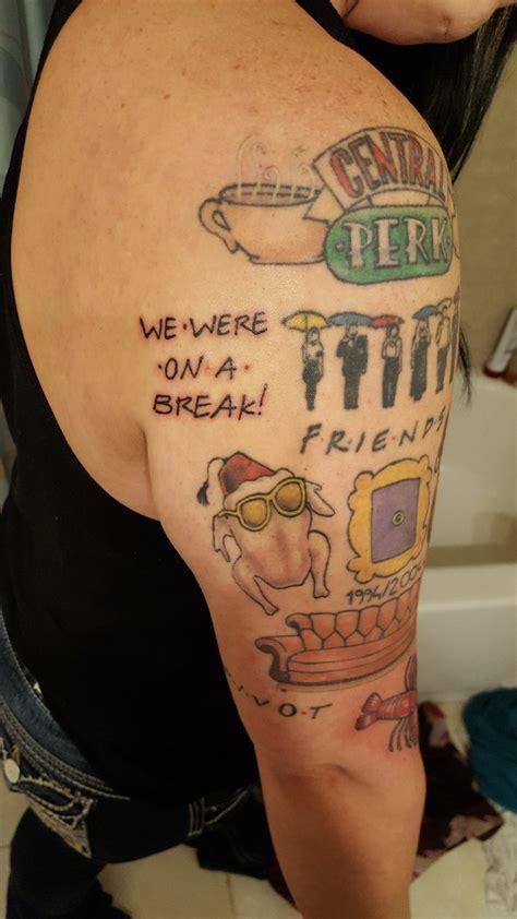 tattoo your friend show friends tv show hookedonfriends twitter