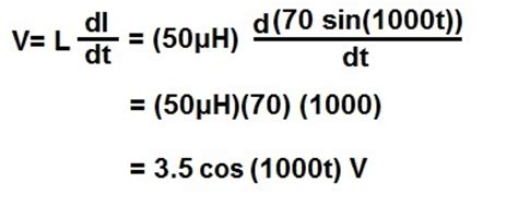 voltage across an inductor calculator how to calculate the voltage across an inductor