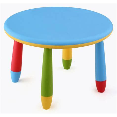 imagenes infantiles redondas mesa infantil de colores redonda fabricada en pl 225 stico