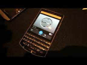 Blackberry Porsche Blackberry Porsche Design P9983 On