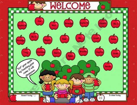 25 Best Ideas About Attendance Sheet Template On Pinterest Attendance Sheets Preschool Sign Free Smartboard Templates
