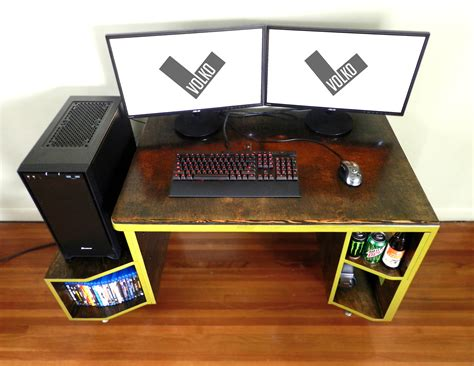Vikter Gaming Desk By Tom Balko At Coroflot Com Paragon Gaming Desk
