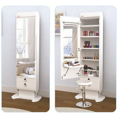 elegani cabinet standing mirror with vanity new