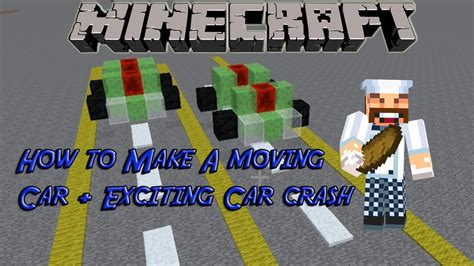 minecraft working car how to a easy car on minecraft