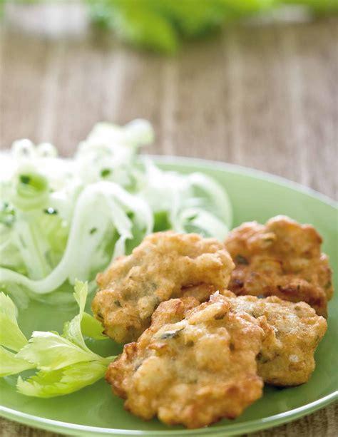 ricette con sedano bianco frittelline di sedano rapa con insalata di sedano bianco