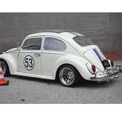 Volkswagen Kafer Herbie Coccinelle Burago Diecast Model