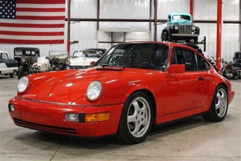 how cars run 1991 porsche 911 auto manual 1991 porsche 911 carrera 4 83839 miles guard s red coupe 3 6l v6 5 speed manual for sale