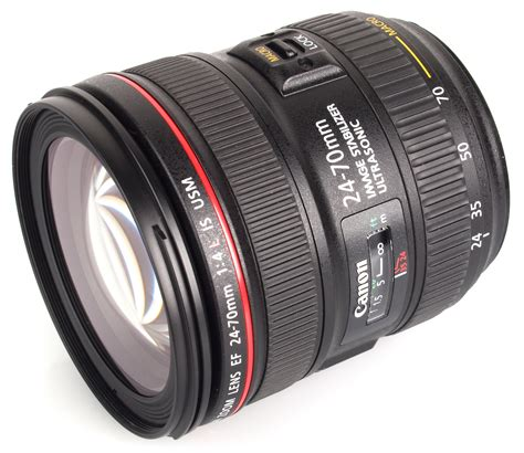 canon ef 24 70mm f 4l usm lens review