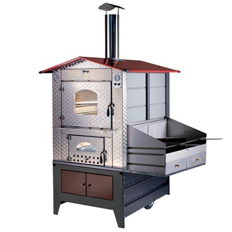 barbecue da interno forno a legna da esterno g100 barbecue gemignani