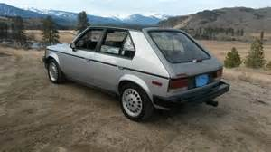 Dodge Omni For Sale Craigslist Craigslist Find 1986 Dodge Omni Glh A Bargain At 1000
