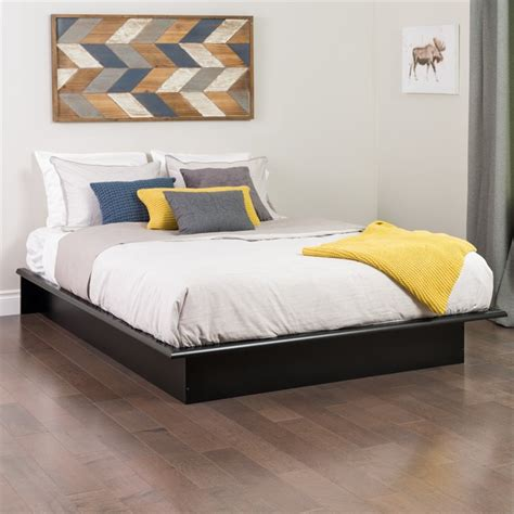 black platform beds black full platform bed bbd 5475 k