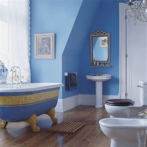 bathroom furniture home design ideas - Blue Bathroom Colors