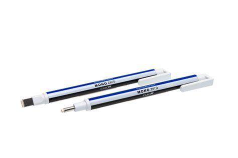 Dijamin Eraser Mono Zero eraser pen tombow mono zero square tip colouredpencils de