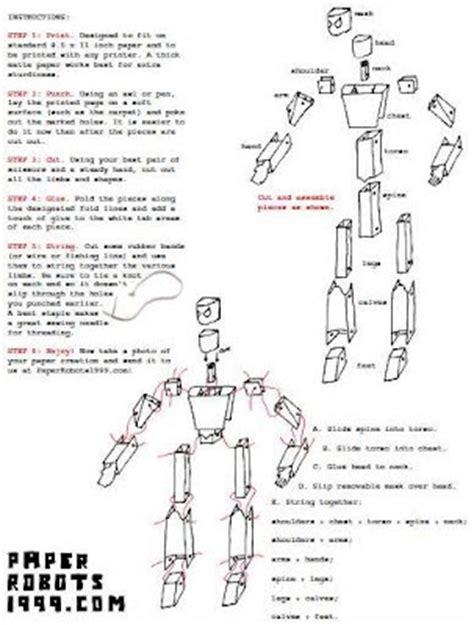 membuat robot dari kertas cara membuat robot dari kertas