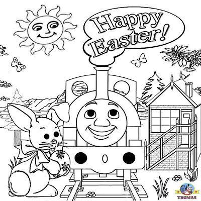 thomas coloring pages games free printable easter worksheets thomas the train coloring
