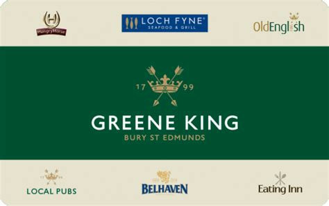 The Greene Gift Card - greene king gift cards
