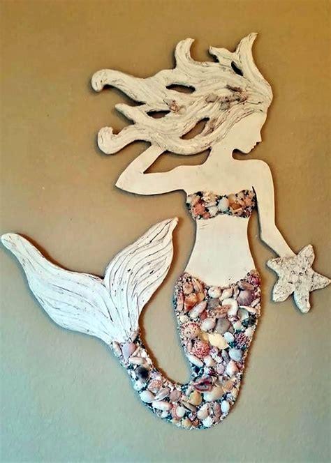 Mermaid Wall Mural 40 diy stone craft ideas for many use bored art