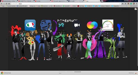 Chrome Themes Homestuck | homestuck google chrome theme by lmfeliciano on deviantart