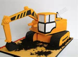 bagger kuchen celebrate with cake excavator cake