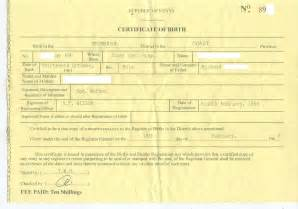 Real Birth Certificate Template by Dr Conspiracy S Birth Certificate