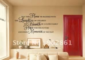 new home quotes blessings quotesgram loving hearts make a happy home wall sticker decals