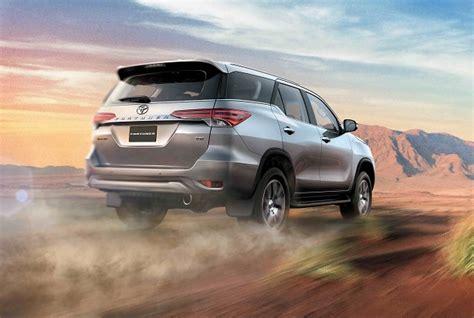 Toyota Fortuner Chrome Ornamen Plat Nomor 1 toyota fortuner 2016 in detail qatar yallamotor