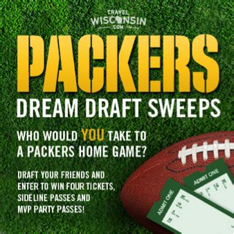 Packers Giveaways - travel wisconsin announces winners of packers giveaway travelwisconsin com