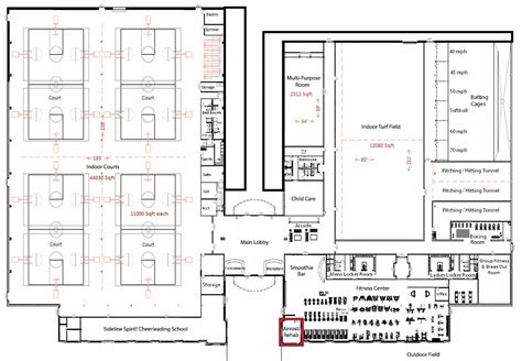 commercial complex floor plan indoor sports complex floor plans sport complex