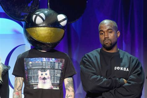 deadmau5 beef kanye west deadmau5 beef on twitter over pirated