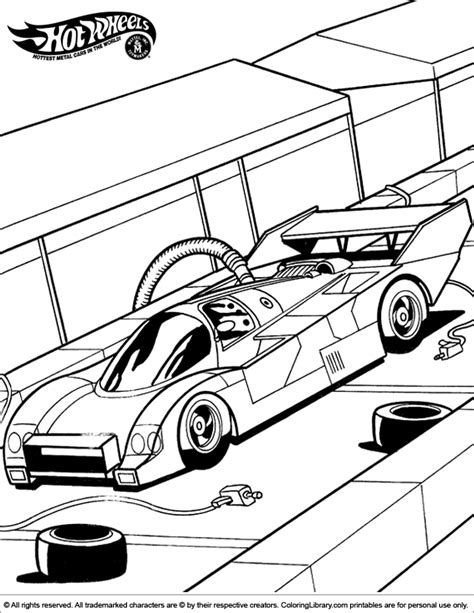 free lego hotwheels coloring pages