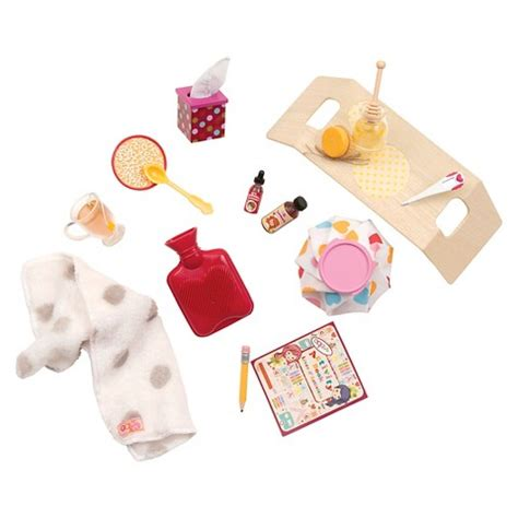 sick at home doll accessories our generation target