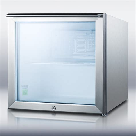 Glass Door Mini Refrigerator Ffar2lgl7css Summit Appliance