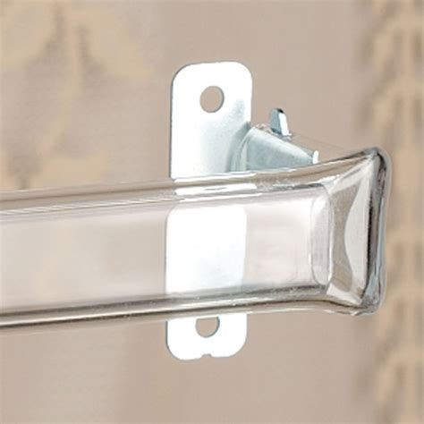 clear drapery rods clear curtain rods curtain ideas