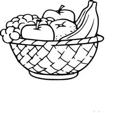 coloriage corbeille fruits 224 imprimer sur coloriages