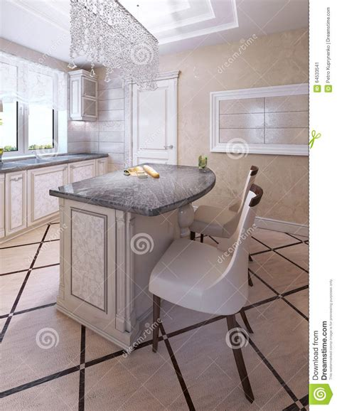 Deco Kitchen Chairs by Bar Chairs By Deco Kitchen Island Stock Image Image